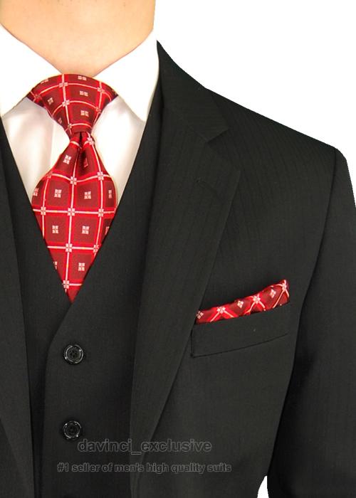 Men Clothing Stores Online Window Pane Check Navy Dress Shirts